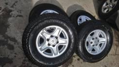 "Комплект колёс Yokohama Geolandar A/T 265/70R16 на литье Toyota. 7.0x16"" 6x139.70 ET15 ЦО 106,0мм."