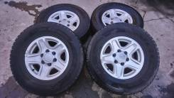 """Комплект колёс Bridgestone Blizzak DM-Z3 265/70R16 на литье Toyota. 7.0x16"""" 6x139.70 ET15 ЦО 106,0мм."""