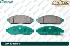 Колодки пер. G-brake Nissan Serena #C25 #C26 Pathfinder R51M LEAF