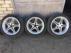 """Продам комплект колёс AVS с резиной. 8.0/9.0x17"""" 5x114.30 ET32/38"""