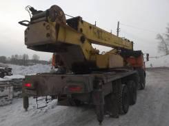 Юрмаш Юргинец КС-55722-2. Продам автокран 25 тонн, 21,50м.