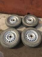 """Комплект колес 165R13LT на Toyota Probox , Succeed Dunlop в Хабаровске. 5.0x13"""" 4x100.00"""