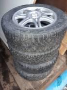 Комплект колёс 15 / 6.0J PCD 5x105 ET 39 ЦО 56.6, 195/65 R15