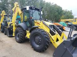 New Holland B115B. Экскаватор-погрузчик , 1,20 куб. м.