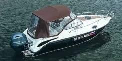 Grizzly 580 Cruiser. 2020 год, длина 5,80м., двигатель подвесной, 150,00л.с., бензин. Под заказ
