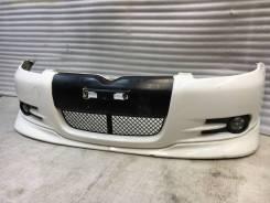 Бампер RS витц vitz 10-13-15куз 1999-2002г Yaris Белый 068