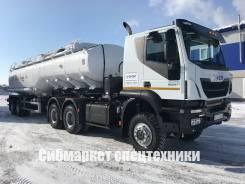Iveco Trakker. Новый седельный тягач /Ивеко АМТ 633910, 12 900куб. см., 27 000кг., 6x6