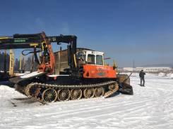 АЗСМ Прогресс МСН-10. Трактор трелёвщик с манипулятором, 16 500кг.