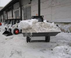 Заводской ковш 1 куб. м для минипогрузчиков