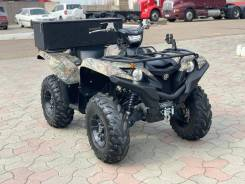 Yamaha Grizzly 700. исправен, есть псм\птс, без пробега