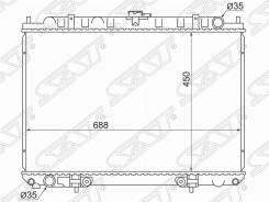 Радиатор Nissan Rnessa(KA24DE) / Presage / Bassara / Serena / Liberty