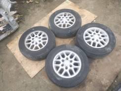 "Комплект колес Nissan Elgrand 205/70 R15. 6.0x15"" 6x139.70 ET35 ЦО 100,1мм."