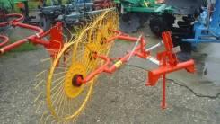 Грабли ворошилки 4х колёсные