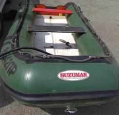 Лодка ПВХ Suzumar DS350, дно надувное высокого давления