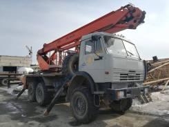 КамАЗ. Автовышка АПТ-28 (ПСС-141.28) Камаз-43114, 10 850куб. см., 28,00м.