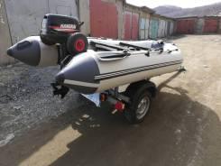 Мастер лодок Ривьера. 2018 год, длина 3,30м., двигатель подвесной, 6,50л.с., бензин