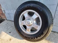 Продам запасное колесо литье 5/139,7 R 16 + шина