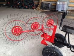 Грабли-ворошилки 3х колёсные ВМ-3