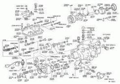 Ось Toyota 22655-54010 v