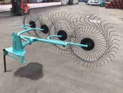 Грабли-ворошилки навесные OGR 4х колесные 2.6м (усиленные)