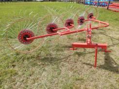 Грабли-ворошилки колесно-пальцевые ГВН-5 D-Pol, Беларусь