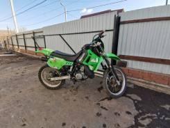 Kawasaki KDX 200. 200куб. см., исправен, птс, с пробегом