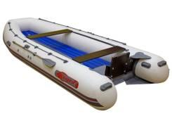 Лодка надувная под водомёт Leader Калуга 480 JET-T с дном НДНД