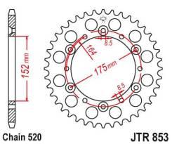 Звезда ведомая задняя JTR853.52 Yamaha TT250R 93-04