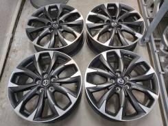"""Оригинальные литые диски Mazda на 19"""" (5*114.3) 7j et+50 цо 67.1мм"""