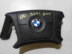 Подушка безопасности водителя. BMW 3-Series, E46, E46/2, E46/2C, E46/3, E46/4, E46/5