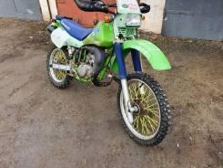 Kawasaki KDX 200. 200куб. см., исправен, птс, без пробега