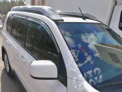 Дефлекторы окон (ветровики) оригинальные хром Nissan X-Trail 2007-2015