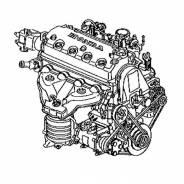 Двигатель D16A Honda Domani MB4 MB5