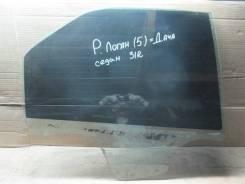 Стекло двери задней правой Renault Logan 2005-2014