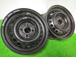 Комплект штампованных дисков R14 / 4x100 / ЦО 56.1 из Японии