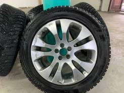 """Продам зимние шины и литые диски. 7.5x17"""" 5x100.00 ET-48 ЦО 56,1мм."""