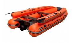 Лодка ПВХ Абакан-420 JET Оранжевый