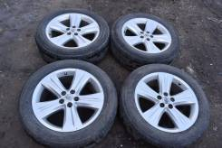 "Комплект колес на Toyota Highlander. 7.5x19"" 5x114.30 ET35 ЦО 60,1мм."