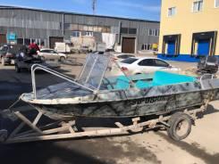 Лодка Крым и Tohatsu 50