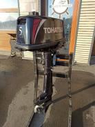 Tohatsu. 5,00л.с., 2-тактный, бензиновый, нога S (381 мм), 2016 год. Под заказ