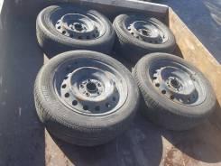 Bridgestone. летние, 2007 год, б/у, износ 40%