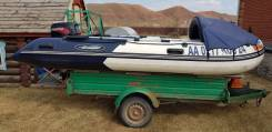 Моторная лодка Gladiator D 420al плм tohatsu 30
