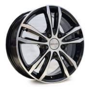 Диск колесный 16 КиК Samara 6.0*16 4*100 ET40 D67.1 алмаз черный