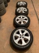 Продам комплект колес Nissan на 16 с летней резиной.