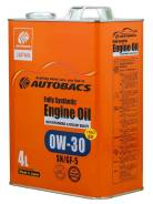 Autobacs Fully Synthetic 0W-30 SN/GF-5 4L A01508398