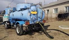 Услуги ассенизатора, откачка септика, канализации Владивосток, пригород