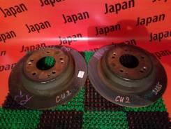 Диски тормозные Honda Accord CU2, задние