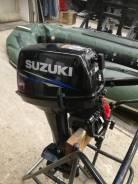Suzuki. 15,00л.с., 2-тактный, бензиновый, нога S (381 мм), 2018 год