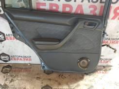 Обшивка двери задняя левая Тойота Калдина 1995 год