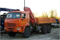 Камаз 43118 бортовой с КМУ Fassi f245, 2020